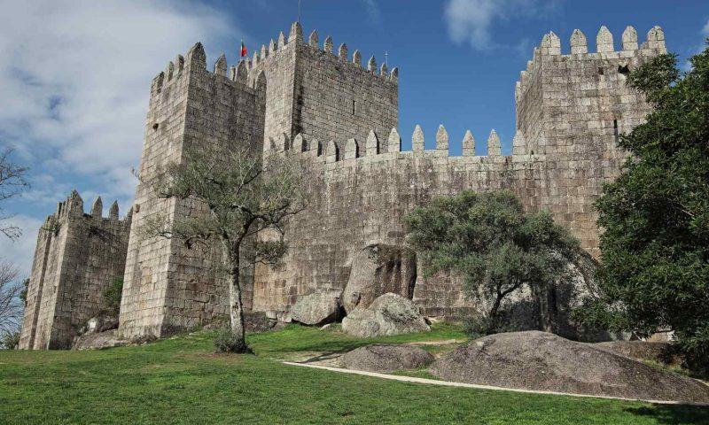 Grad Guimaraes, rojstni kraj Portugalske