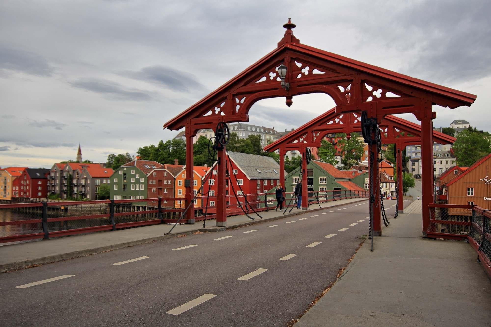 Trondheim, nekoc vikinska prestolnica