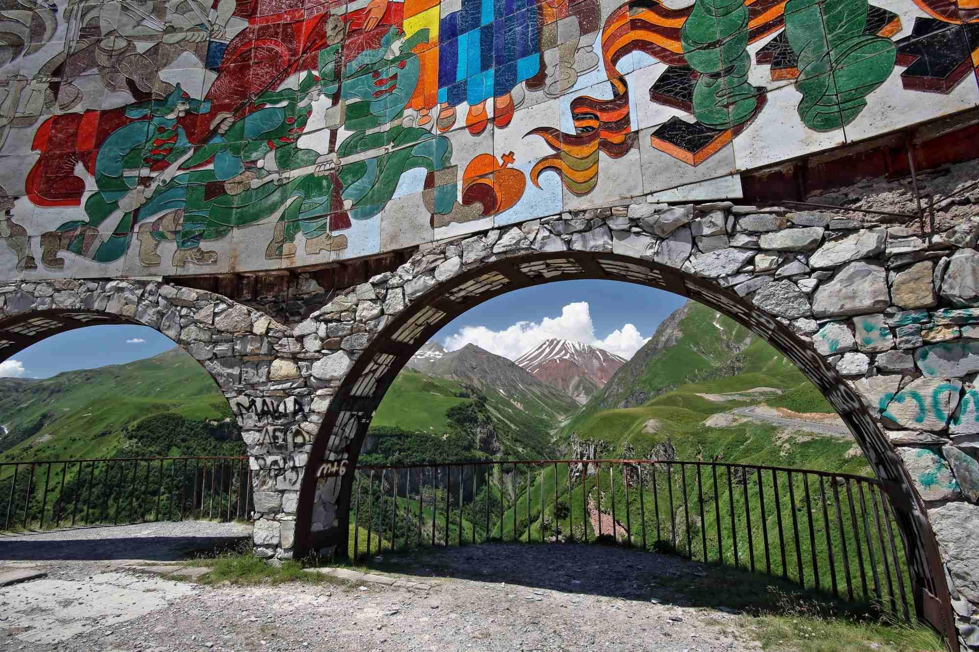 Kavkaz, Kazbegi, vzhodna Gruzija