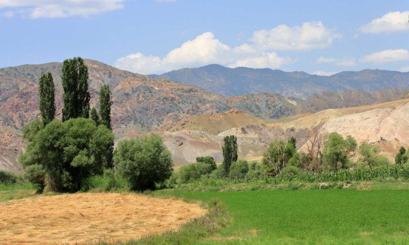 Pokrajina osrednje Turčije, blizu mestra Erzincan