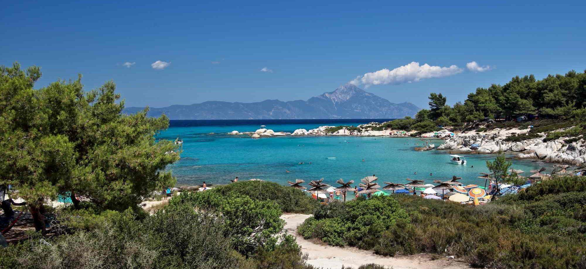 Nic se ne more primerjati z grskim morjem