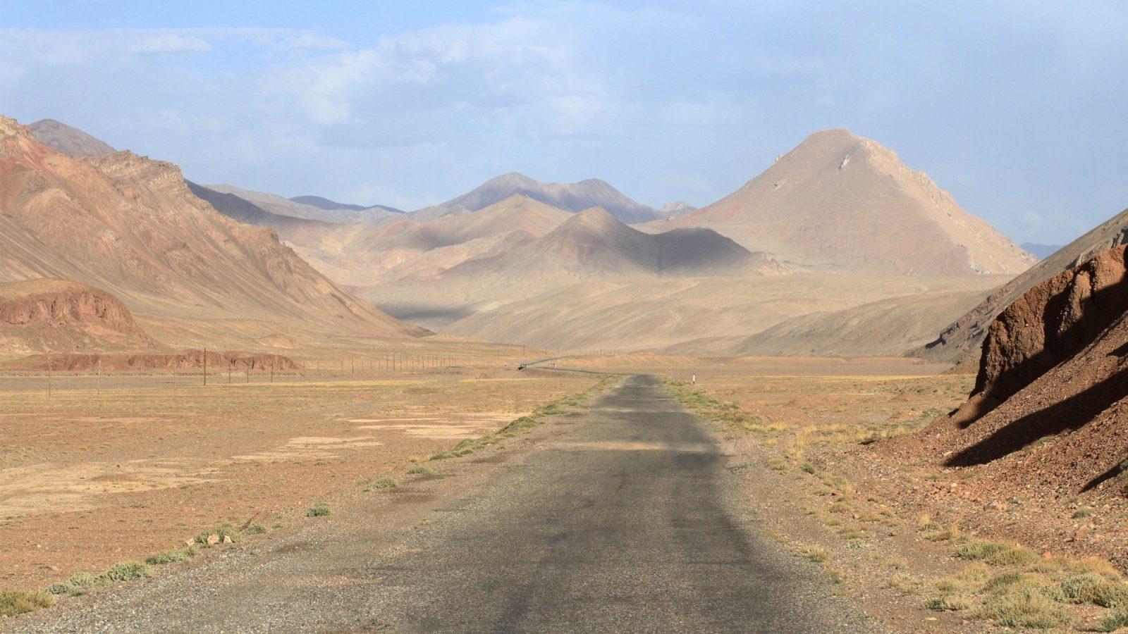 Na M41, na Pamirski cesti
