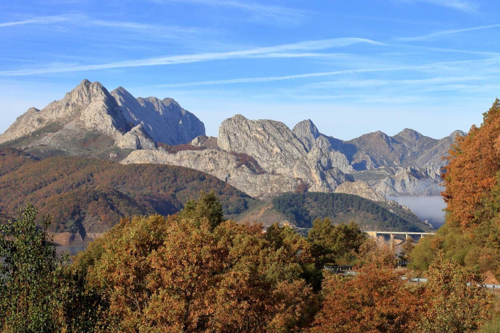 Nekje med Picos de Europa in Leonom, severna Španija