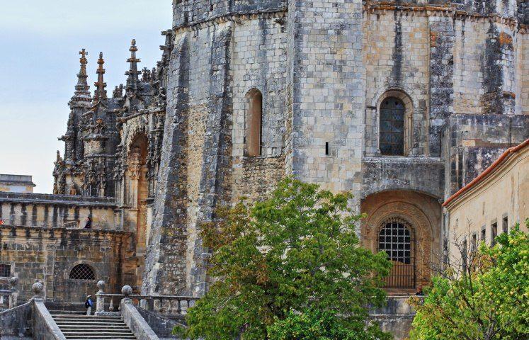 Grad Convento de Cristo, Tomar, Portugalska