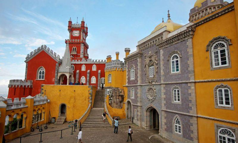 Kompleks palac v blizini Lizbone