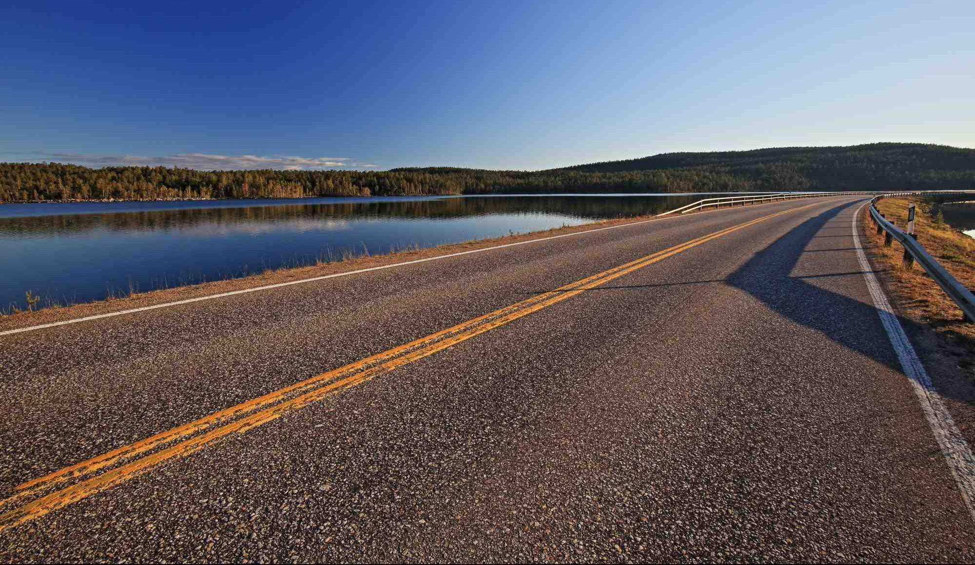 Finska ima odlicne hitre ceste, le paziti je potrebno na pijane lose